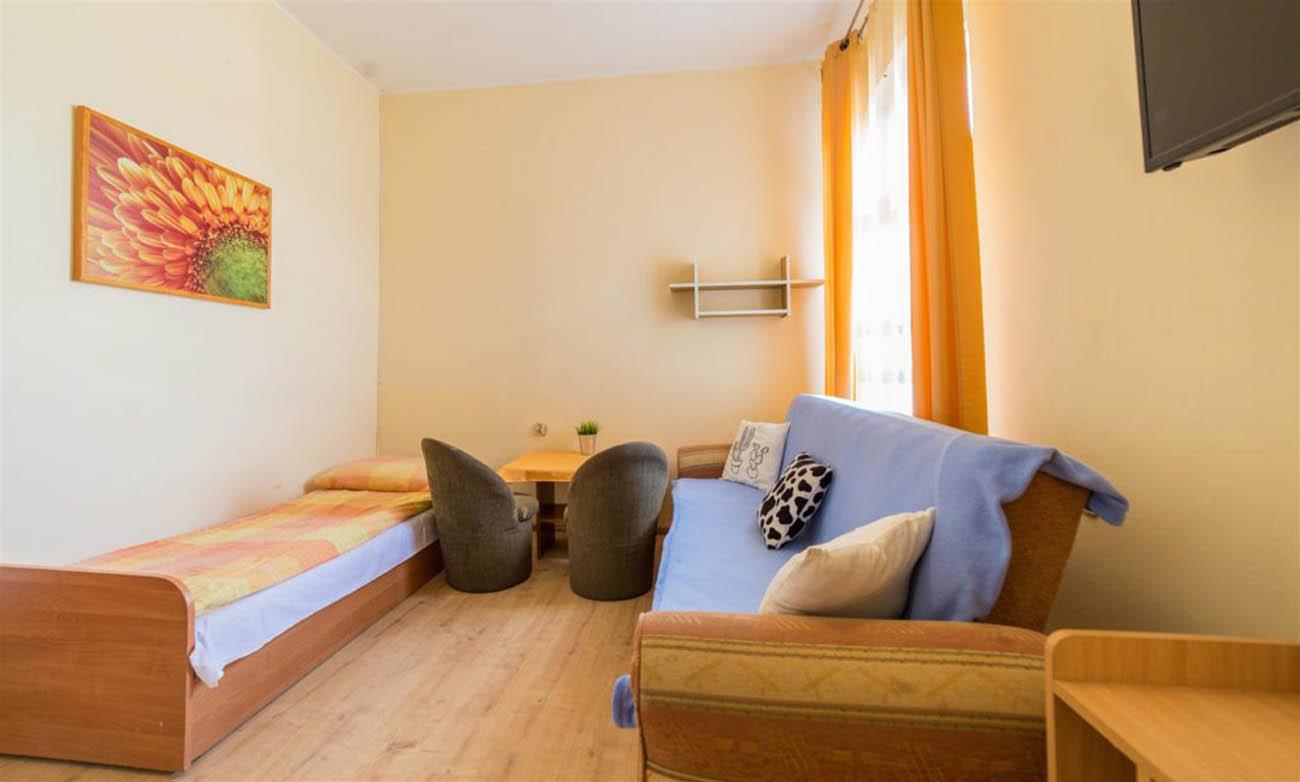 Pokój 3-osobowy - Pokoje blisko plaży - Międzywodzie